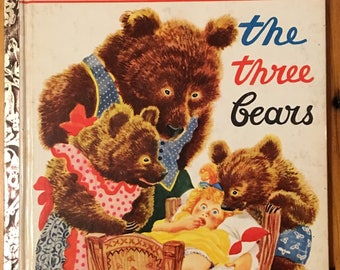 The Three Bears, illustrated by F. Rojankovsky, 1948 Little Golden Book, O edition