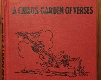 A Child's Garden of Verses, Robert Louis Stevenson, illustrated by Eulalie, 1932