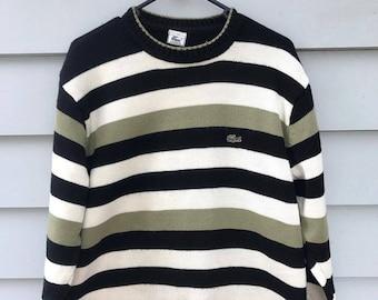 Vintage Lacoste Stripey sweater
