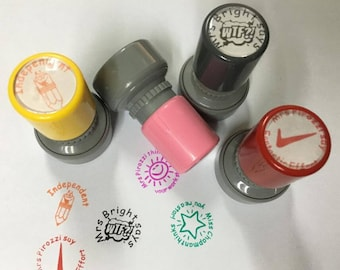 Personalized Teacher Stamp, Self Inking Stamp, Custom Teacher Stamp, teacher christmas gifts, back to shcool stamp