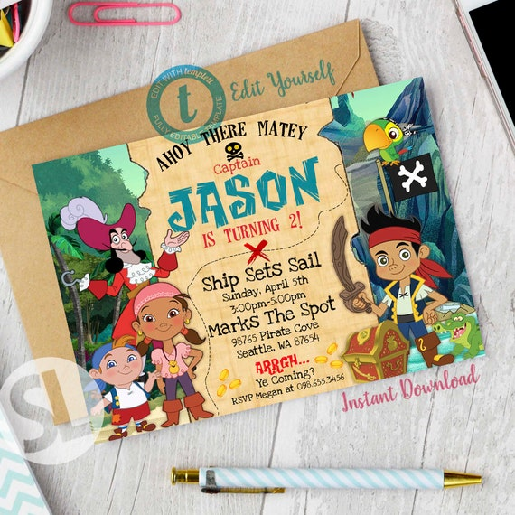 Jake And The Neverland Pirates 5 In 1 Jake And The Neverland