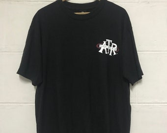 d7a4f84f131737 Vintage 90s Reebok Above The Rim Basketball Tshirt Hip Hop Apparel