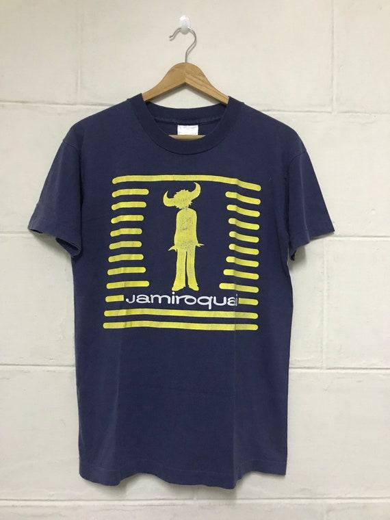 76f8937aa Vintage 90s Jamiroquai Promo Album Tshirt British Singer