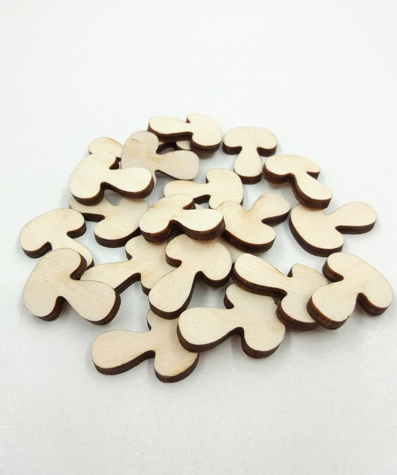 Ornaments Cut-out Plywood Shapes 4 Pack Craft Decoupage Scrapbooking
