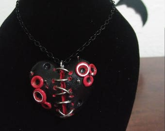 Zombie horror necklace