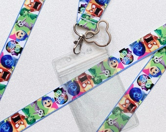 Inside Out Lanyard or Key Fob