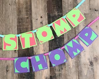 Stomp/Chomp Banners