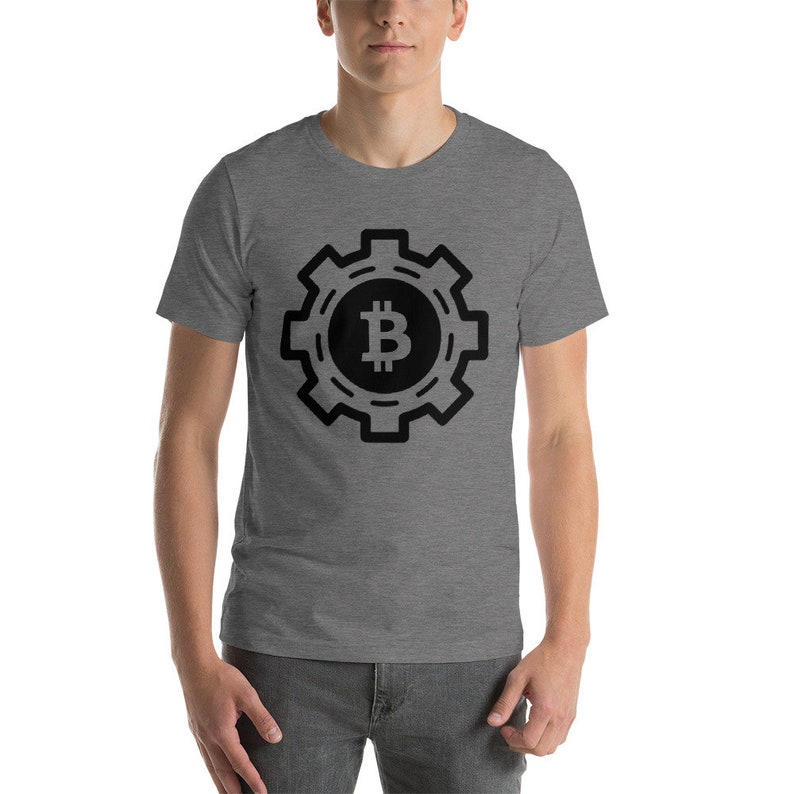 Bitcoin Shirt Blockchain T-Shirts Asic Bitcoin Crypto   Etsy