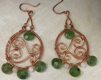 JADE WIRE WRAPPED