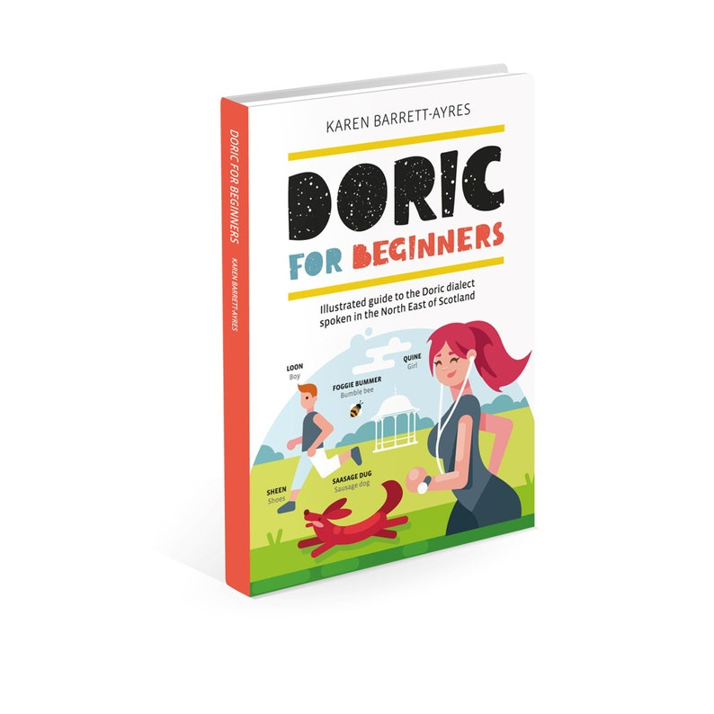 Doric For Beginners Book by Bramble Graphics image 0