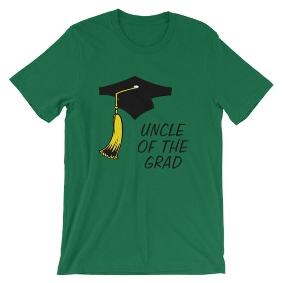 Obtention du diplôme de graduation T-shirt - Graduation 2018 2018 2018 - oncle de la Grad - cadeaux - Graduation Party - unisexe manches courtes T-Shirt d9f779