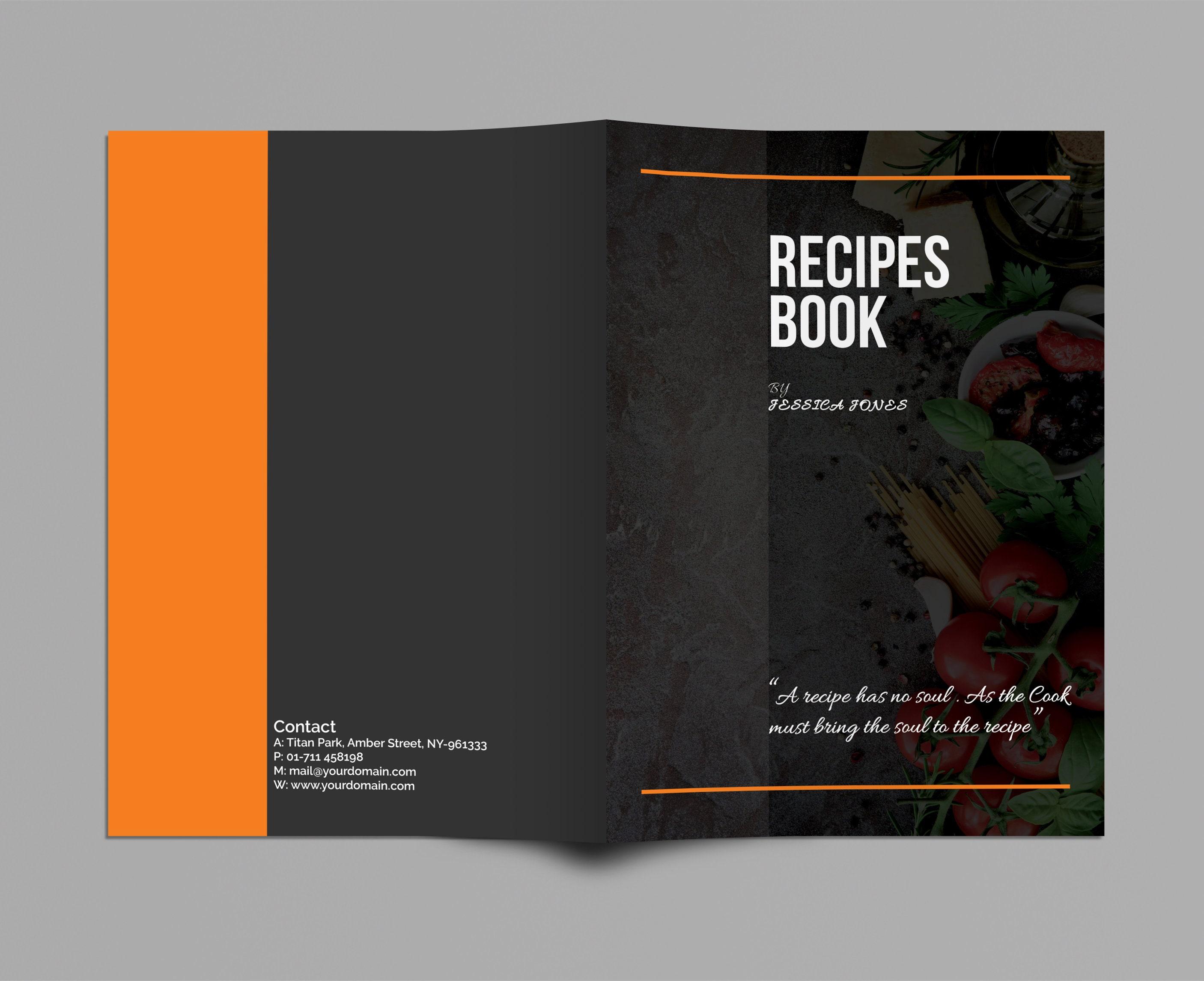 Rezept-Vorlage Rezept-Buch Rezept-Buch-Vorlage Druckbare