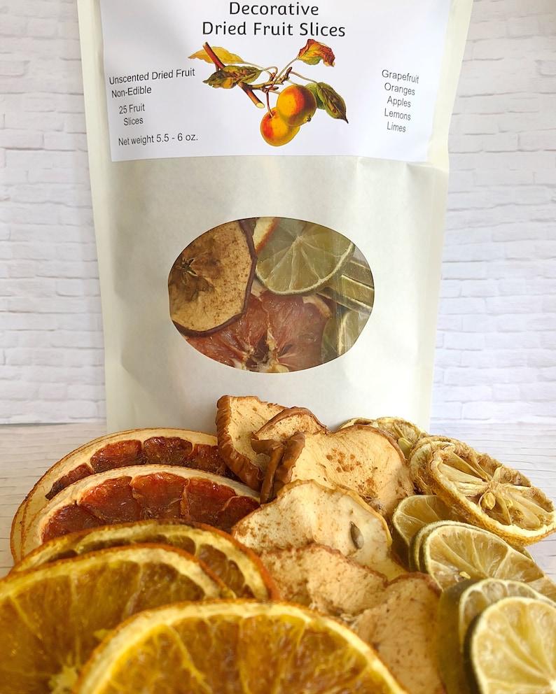Dried Fruit Slices Decorative Grapefruit Oranges Apples Etsy
