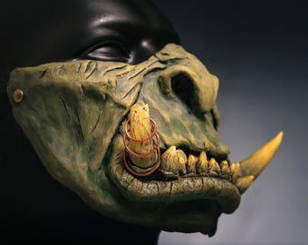 Mask orc warcraft guldan Gul'dan Cosplay Cosplay Mask Warcraft Mask Gul'dan cosplay World of warcraft