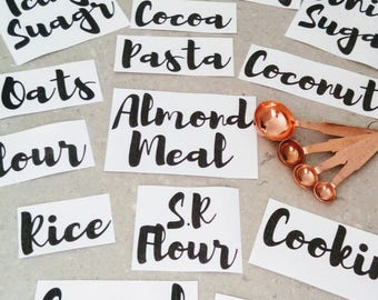 Pantry Labels Set of 15