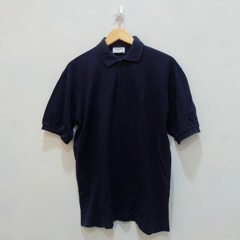 4f66e6f7 Rare Vintage VALENTINO Polo Shirt Made In Italy Size S | Etsy