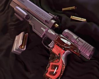 CYBERPUNK 2077 - Malorian Arms 3516 - JOHNNY SILVERHAND 3D print stl