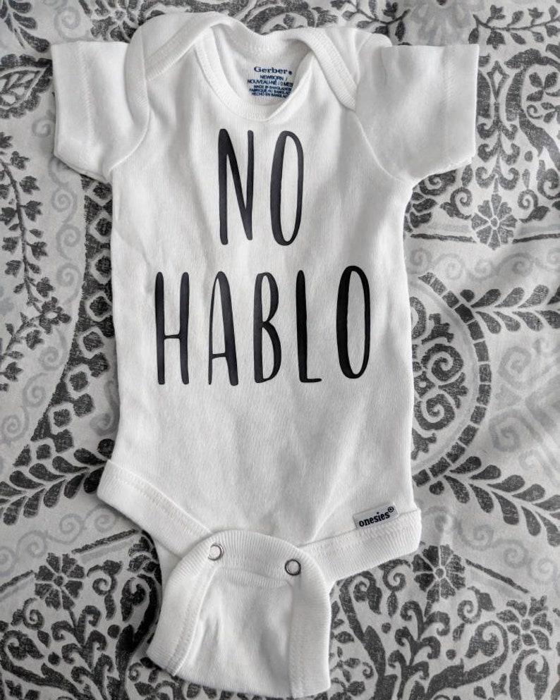 No Hablo Bodysuit