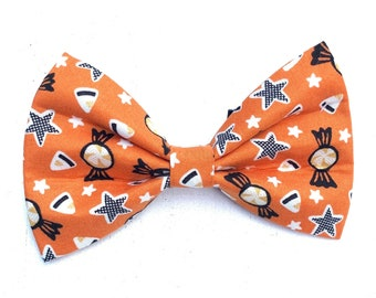 NEW! Halloween Trick or Treat Dog Bow Tie