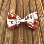 University of Texas Dog Bow Tie