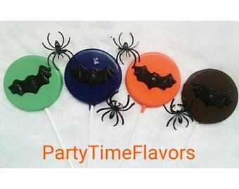 Halloween Chocolate Bat lollipops