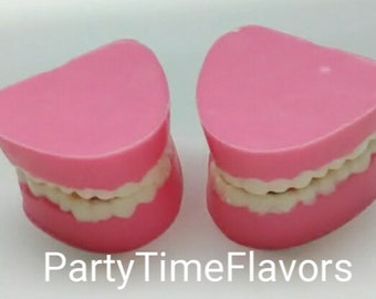 Denture Teeth Chocolate Party Favor Gag Gifts