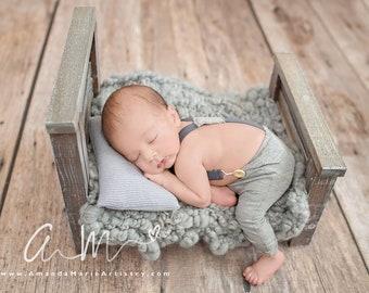newborn pants /& sleepy hat Newborn pant set baby boy photo outfit dark navy jersey baby pants photography props