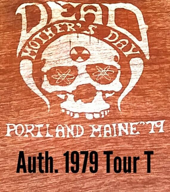 Rare 1979 Grateful Dead Tour T-Shirt / Nuclear Sku