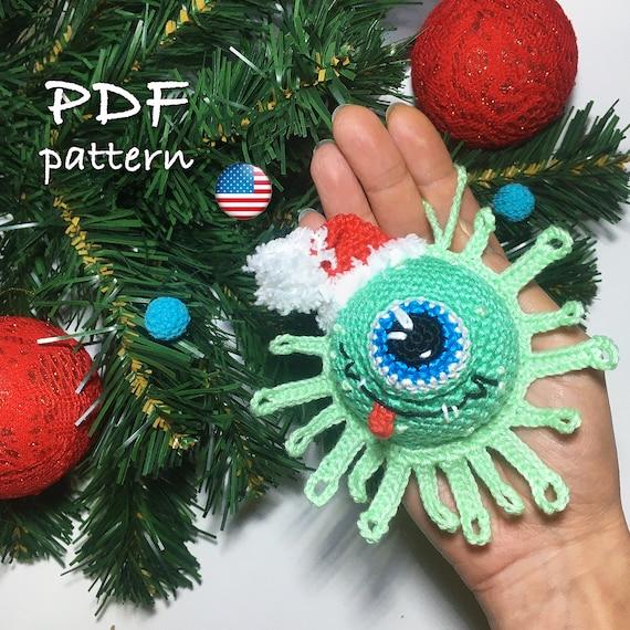 Crochet  Christmas Funny Tree Amigurumi