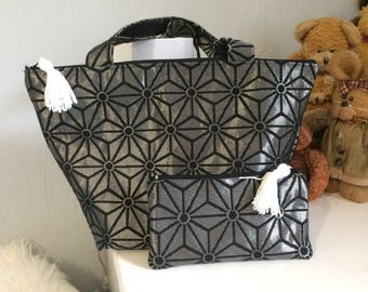 Fabric with matching clutch purse