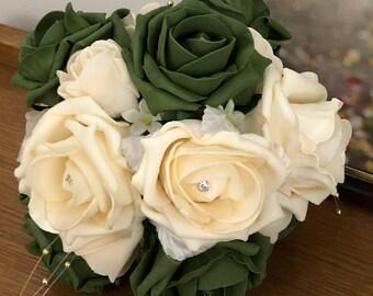 Pearl Bridesmaid Bouquet XS