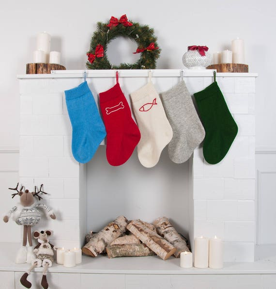 monogram made to order handmade stocking cat stocking personalized pet stocking w initial Custom Initial Stocking for dog monogrammed