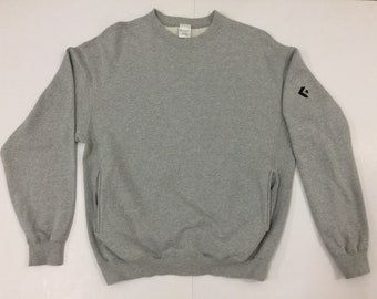 26174562de6b Vintage Converse Sweatshirt - Converse One Star Sweatshirt - Size M