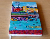 Westagte Gardens Journal Notebook from painting by David Weeks