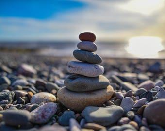 Beach Pebbles print