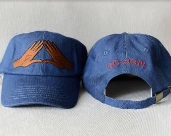 Delta Sigma Theta Denim Cap