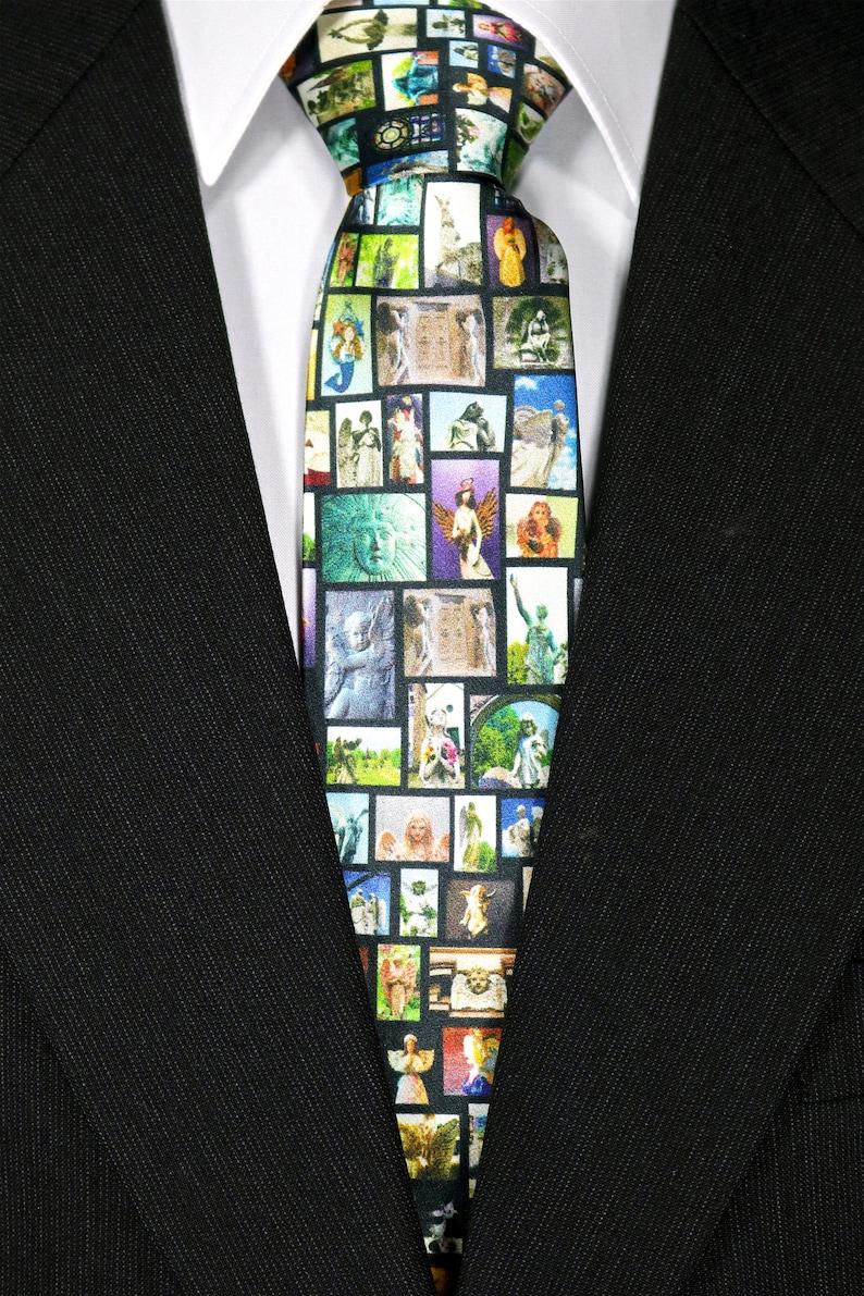 Embrace the Angel Silk Tie