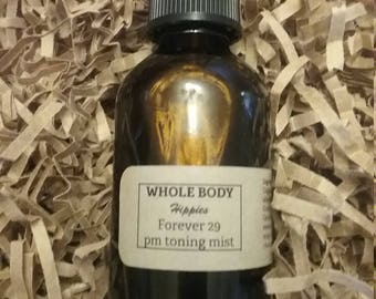 Whole Body Hippies PM Toning Mist Organic Skincare Cell Repair Anti-Aging No Preservatives Sensitive Skin Foundation Set Natural Humectant
