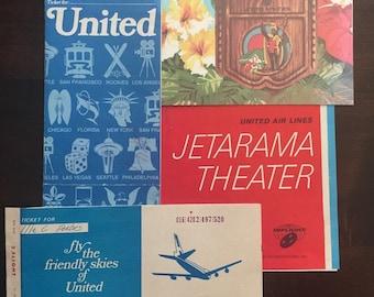 Airline menu | Etsy