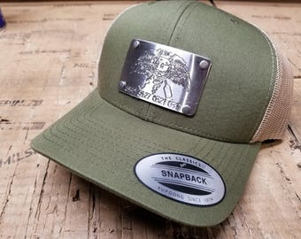 3a532f1dcd6c3a Custom Engraved Snap Back Hat, Military Engravings, Great for Gifts, Army,  Navy, USMC, Coast Guard, Air Force