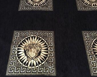 aaa75991209 Versace Inspired Designer Print Jacquard Fabric