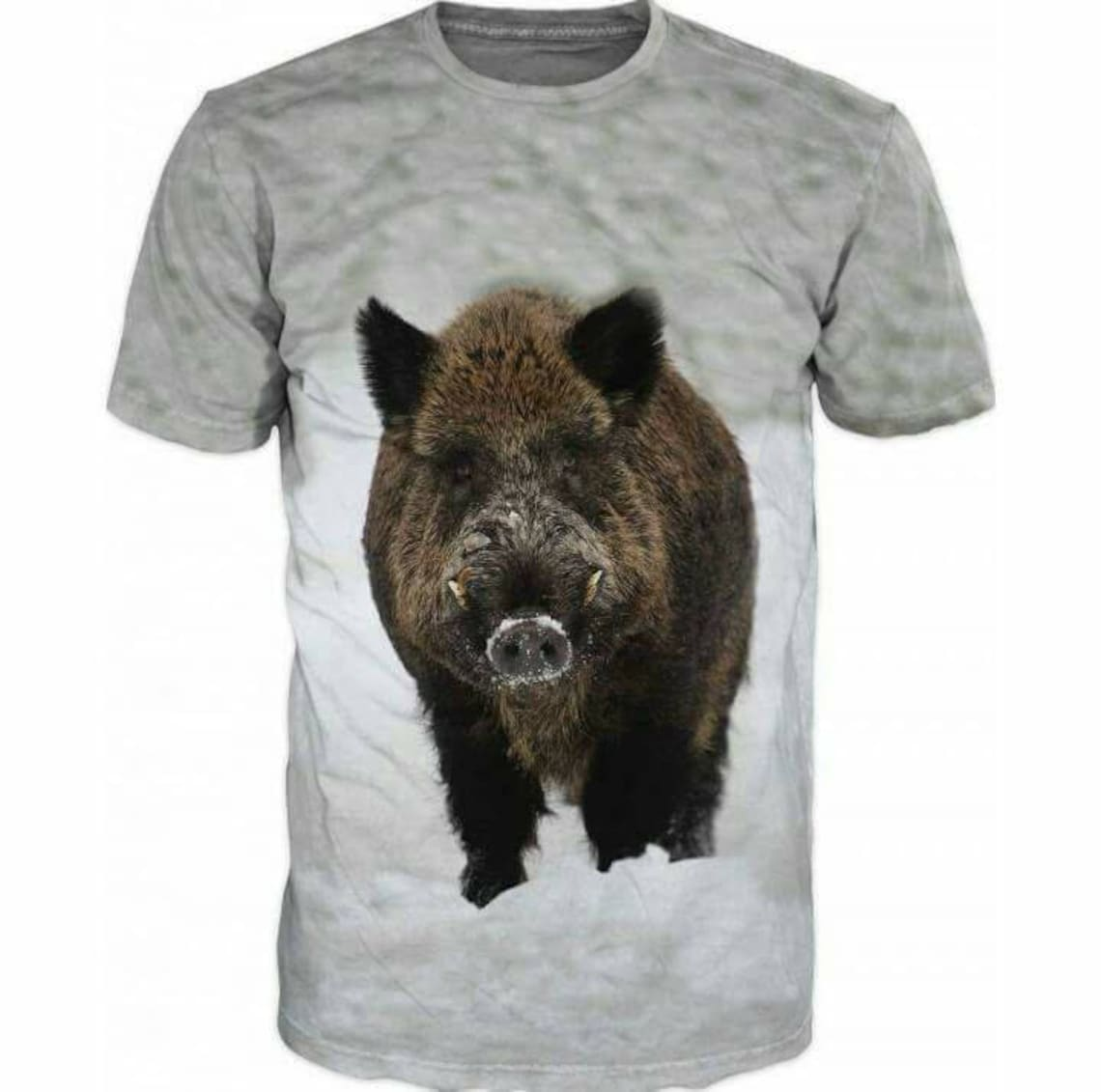 3d Shirts For Men Hunting Boar Wild Boar Print Funny T Shirt Etsy
