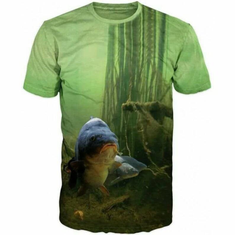 4b30c962 3d Shirts For Men, Fishing Carp Fish, Hobby, Print Funny T-Shirt Top,  Graphic Slim Fit Tee Shirt, Gift For Him, Casual Short Sleeve T-Shirt