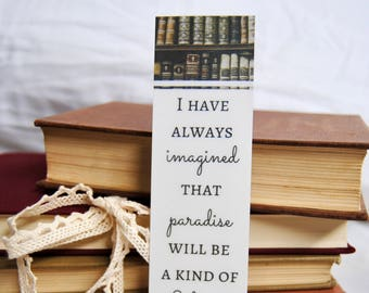 Library Paradise Bookmark
