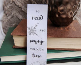 Voyage Through Time Bookmark
