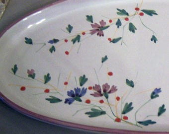Christmas Serving Dish, Made in Italy