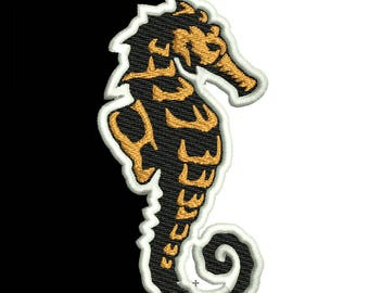 Seahorse logo etsy embroidery design instant download digital file 10 sizes 8 file formats solutioingenieria Image collections