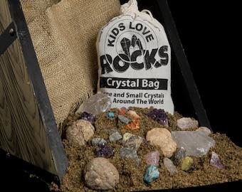 Large Crystal Bag, Crystal Mining Bag