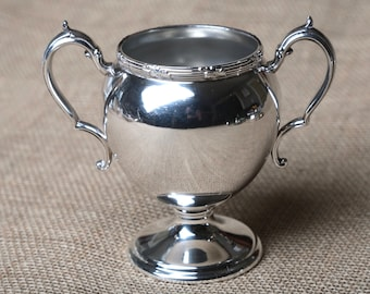 Portsmouth Silver Plate Footed Cup