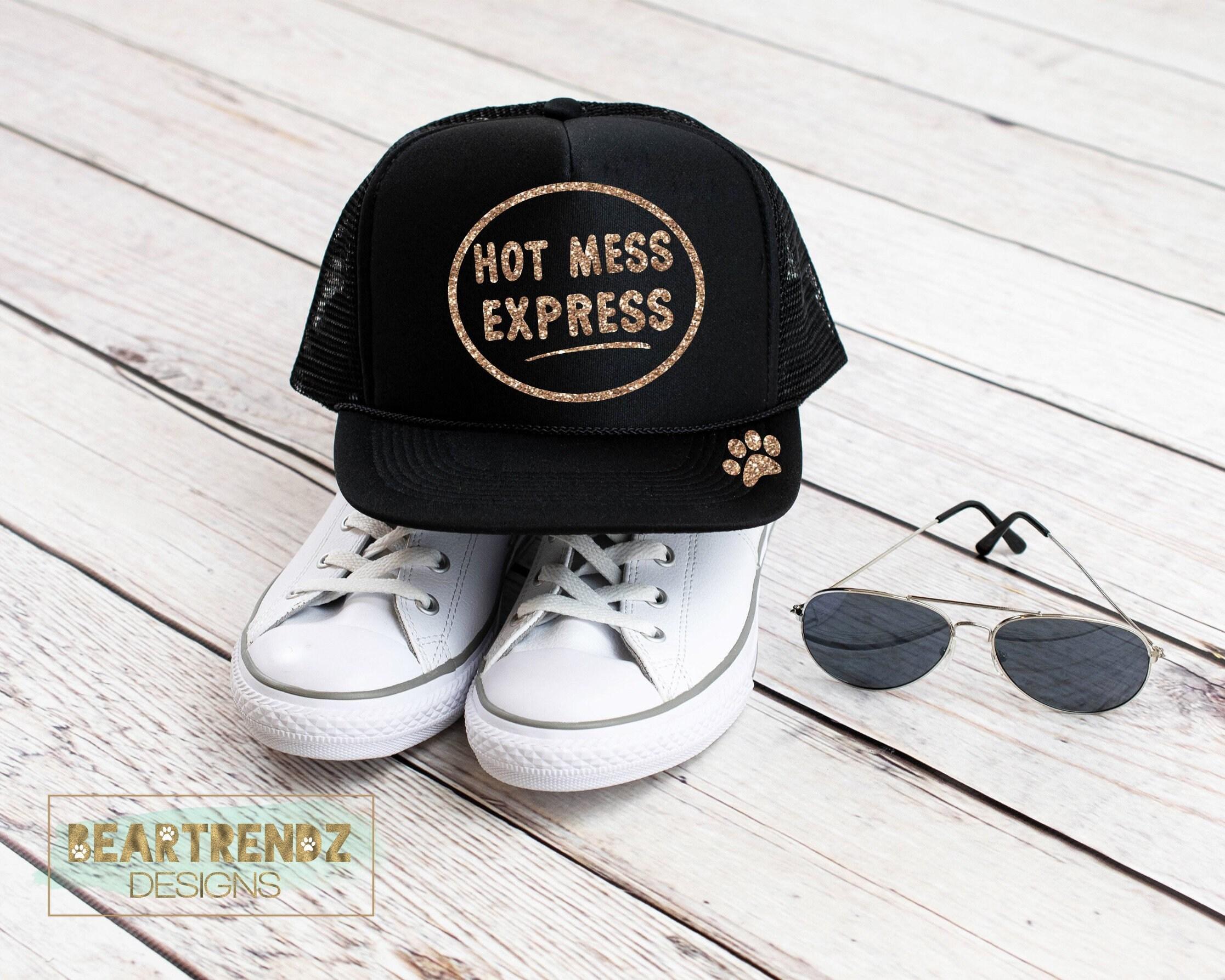 6b8f0967 Hot Mess Express Womens Trucker Hat Summer Hat Lake Hat | Etsy